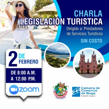 charla legislacion turistica