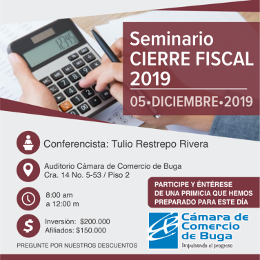 Cierre Fiscal 2019